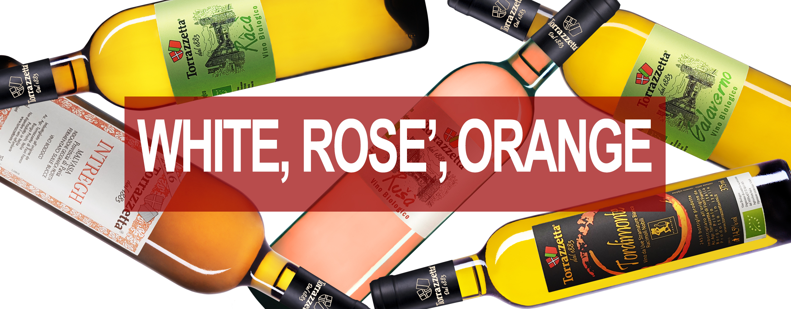 White Rosè Macerated Wines Online Sale - Organic Wines Oltrepò Pavese, Pavia, Lombardy, Italy